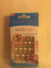 **LOOK** 2 Packs of Broadway Ready To Go Nails #54872 BPG06 Short (Effortless)
