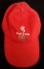 Beijing 2008 Olympic Cap. New without Tags. Very Lightweight Material. Red.