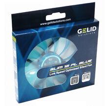 [GELID] SLIM 12 PL BLUE,Silent Slim 120mm PWM Fan with LED,FN-FW12SlimBPL-16