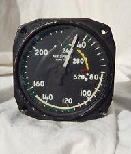 Bendix Aircraft 0-320 Knots Airspeed Indicator Gauge Instrument