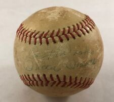 MICKEY MANTLE SIGNED AUTOGRAPHED BASEBALL OFFICIAL BABE RUTH LEAGUE BALL WORTH