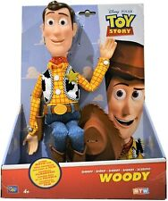 Toy Story Woody Plush Peluche 37 Cm. Thinkway Toys