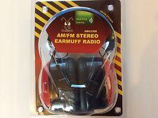 HEADPHONES  EARMUFFS BULLANT AMFM STEREO RADIO TUNER