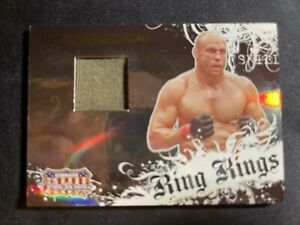 2008 Donruss Americana II Randy Couture Ring Kings #RK-RC Worn Relic 489/500