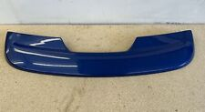 Genuine Ford Fiesta ST150 Mk6, Rear Spoiler, Performance Blue - Used