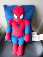Marvel Plush Pillow Comics Spiderman 11 x 17 EUC CUte
