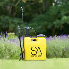 More details for pressure sprayer 16 20 litre manual bottle knapsack weed killer garden ltr uk