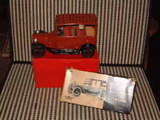 """BANDAI FRICTION, TIN 1915 FORD """"AUTOMOBILES OF THE WORLD"""" SERIES W/BOX IN RED."""
