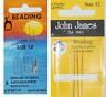Nadel Perlnadel Perlnadeln Nr. 12 von Pony 6 Nadeln  oder John James 4 Nadeln