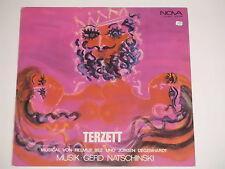 Terzett - Musical von Helmut Bez und Jürgen Degenhardt - Natschinski LP Nova