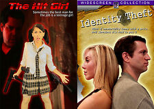 """THE HIT GIRL/Identity Theft COMBO (2 great """"body swap/transformation"""" movies"""