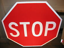 """HUGE 36"""" AUTHENTIC STOP SIGN 3M HIGH INTENSITY REFLECTIV DOT STREET TRAFFIC ROAD"""