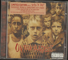 KORN UNTOUCHABLES 14 track NEW CD & VIDEO BONUS Here to Stay 2002