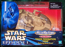 STAR WARS ACTION FLEET EPISODE 1  TRADE FEDERATION TANK & BATTLE DROID