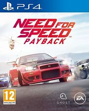 Need For Speed PayBack (PS4) Playstation 4 EA UK PAL Street Car Racing Game
