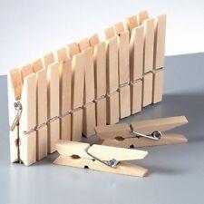 kleine Holzklammern 45 Mm Wäscheklammern Mini Klammern Natur