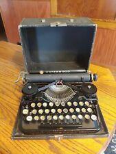 Vintage Underwood Standard Portable Typewriter.