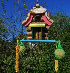 Vogelhaus, Futterhaus, Vogelhäuschen Vogelfutterhaus,`` all you can eat ``