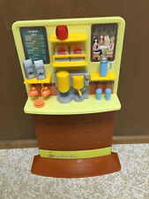 2003 Barbie Doll My Scene Daily Dish Cafe Playset Coffee Shop Furniture Food Lot