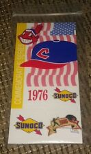 MLB Cleveland Indians baseball Pin Sunoco 1976 brand new cap player chief wahoo!