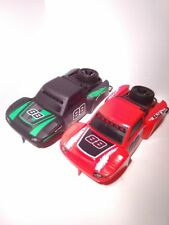 2 NEW BRIGHT 1:14 RC BAJA TROPHY BUGGY BODIES FOR CRAWLER 1 RED  1 BLACK & GREEN