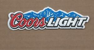 NEW 1 3/8 X 4 3/4 INCH COORS LIGHT IRON ON PATCH FREE SHIPPING P1