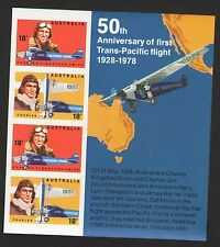 "Australia 674-5. ""Southern Cross"" 675a Imperf Sheet. Mint. Nh. 1978"
