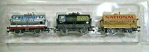 Bachmann 33-526 Tank Traffic Classics Set of 3 National Benzole Tank Wagons - 00