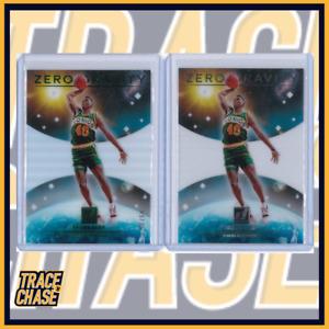 2020-21 Panini Clearly Donruss Basketball Shawn Kemp Green 09/25 + Base