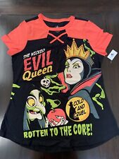 Disney Parks The Wicked Evil Queen Rotten To The Core Adult Tee Nwt X-Small