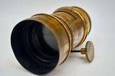 Vintage brass lens Derogy Fab1  #29885
