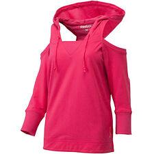 REEBOK propre déplace Rose Gym / Danse à capuche femme sweat-petit UK10