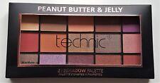 Technic Eye Shadow Palette 15 Colour Matte Shimmer Peanut Butter & Jelly