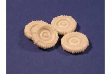 "PANZER ART RE35-159 1/35 Road Wheels with chains for US ""Jeep"""
