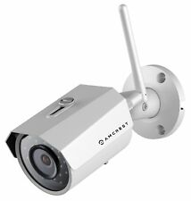 Amcrest Outdoor Security Camera, WiFi Cloud CAM Security  IPM-723W REFURBISHED