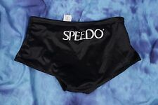 Speedo 26 men's  square cut  training swimsuit Mesh Polyester black  wvwvwv21