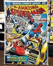The Amazing Spider-Man #125 (1973) 2nd Man Wolf - (Nm) *No Spine Tics*