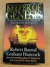 "1996 ""THE KEEPER OF GENESIS"" HIDDEN LEGACY OF MANKIND ILLUSTRATED HARDBACK BOOK"
