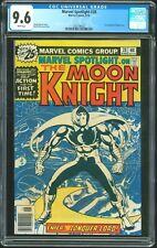 Mavel Spotlight 28 - CGC 9.6 (First Solo Moon Knight) NM+ Show Coming on Disney+