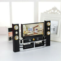 "Plastic Doll House Television Kids Furniture Toy Set for 11.5"" 30cm Doll House"