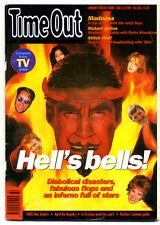 TIME OUT MAGAZINE No 1146 1992 Madness Victor Lewis Smith Alex De La Iglesia