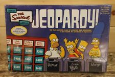 JEOPARDY The Simpsons Edition Board Game New In Package Pressman 2003