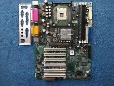 Legend QDI PlatiniX 2-A Socket 478 ATX Intel Motherboard + I/O Shield ,256MB RAM