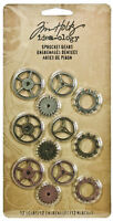 Tim Holtz Idea-ology Sprocket Gears Embellishments New