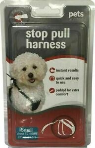 Pet At Home Stop Pull Harness Instant Results Size S/M/L Brand New Retail Pack