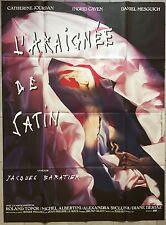 Affiche L'ARAIGNEE DE SATIN Jacques Baratier CATHERINE JOURDAN Caven 120x160cm