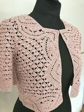 Ted Baker Sample Women's Beaded Cocktail Party Evening Cardigan Wrap