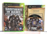 cib Brothers in Arms Road to Hill 30 game for Microsoft Xbox - Complete with map