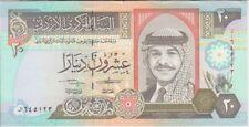 Jordan banknote P27-5122 20 Dinars 1412/1992, AU  We Combine