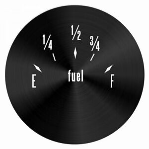 American Classic Series Fuel Level Black Face